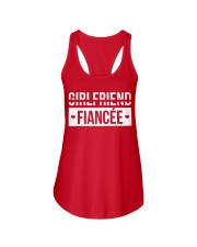 PERFECT GIFT FOR FIANCEE - ENGAGEMENT GIFT Ladies Flowy Tank front
