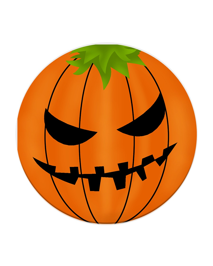Halloween Coaster Circle Coaster