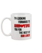 Gift for fiancees Mug back