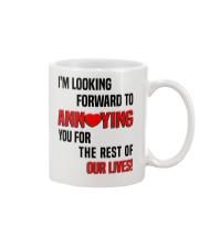 Gift for fiancees Mug front