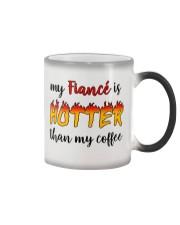 GIFT FOR FIANCEES Color Changing Mug tile