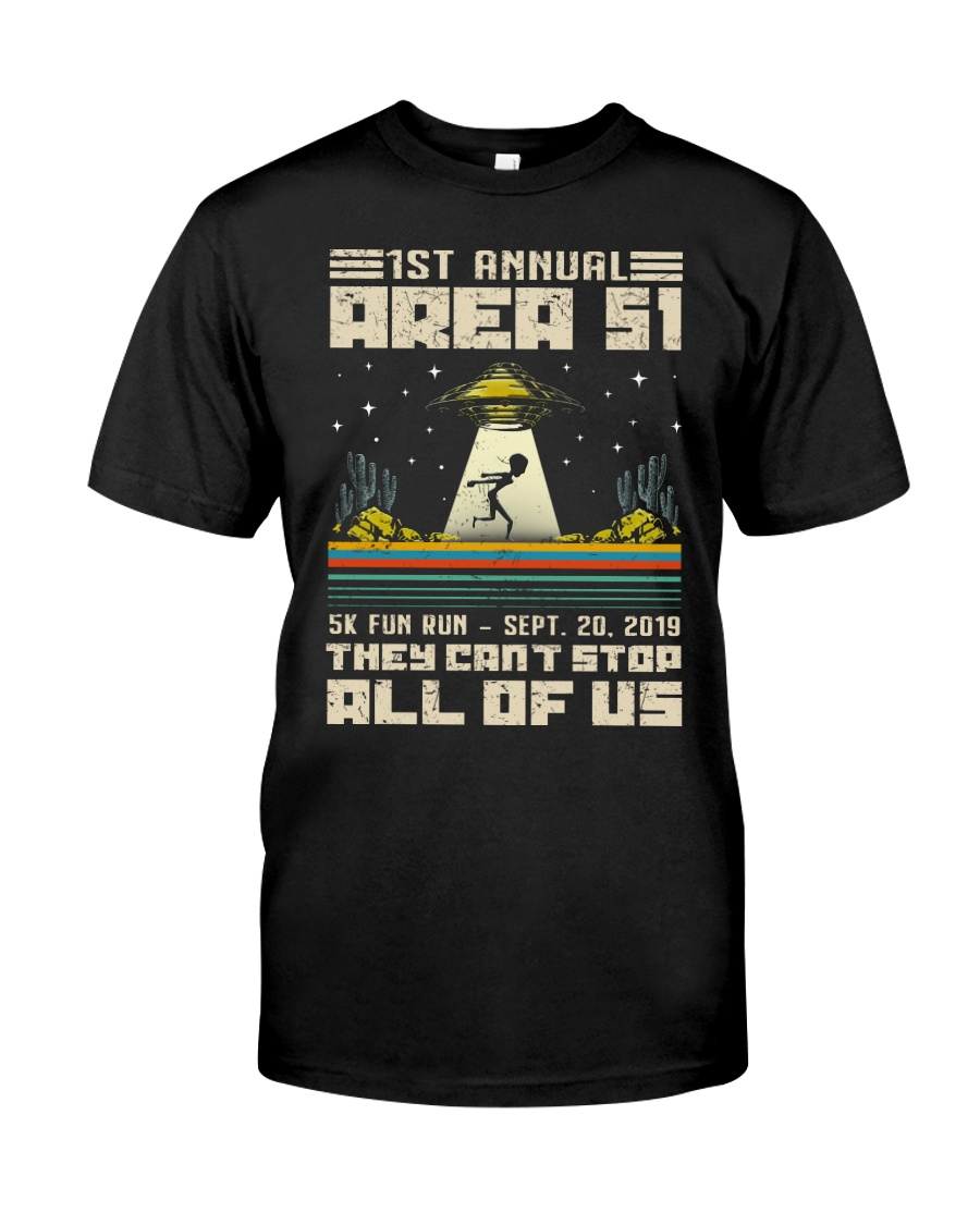 1ST ANNUAL AREA 51 - UFO Classic T-Shirt