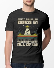 1ST ANNUAL AREA 51 - UFO Classic T-Shirt lifestyle-mens-crewneck-front-13