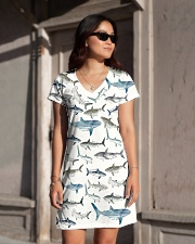 Shark dress type of shark  All-over Dress aos-dress-front-lifestyle-1