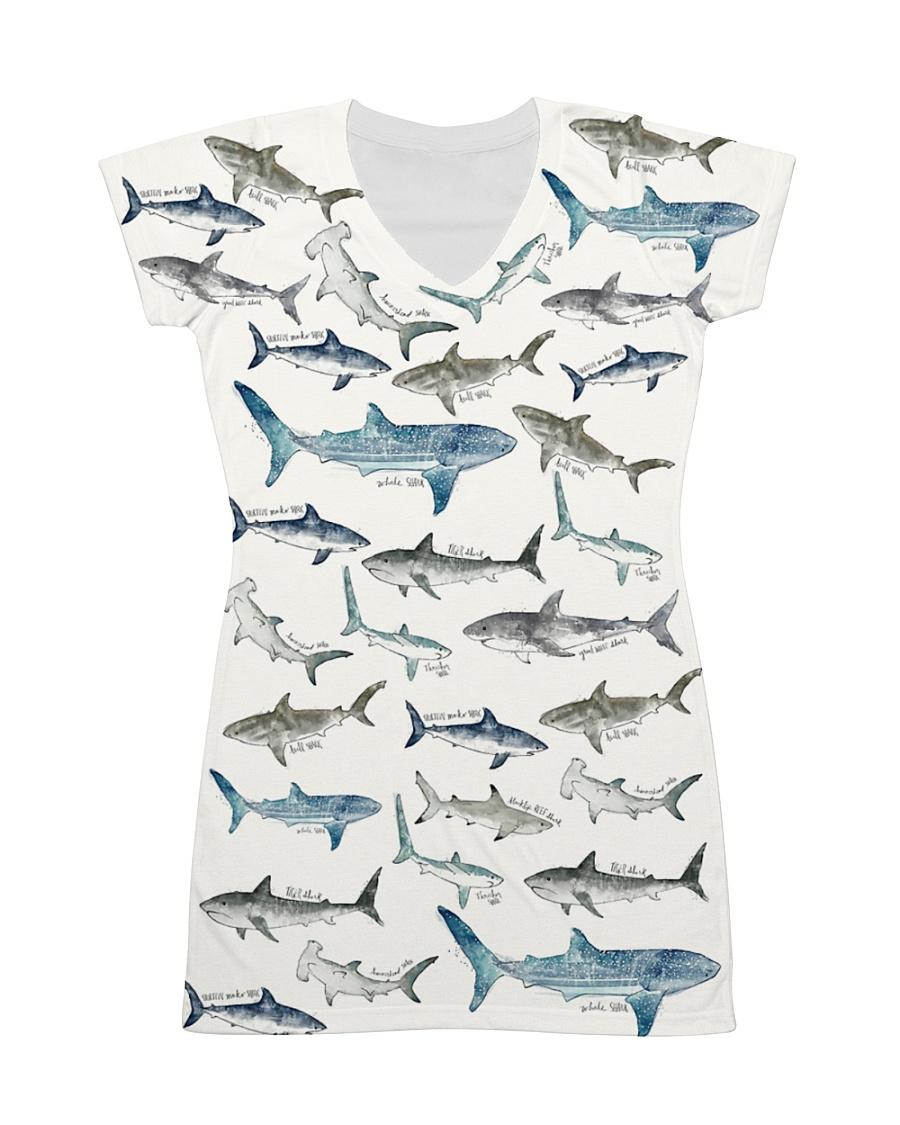 Shark dress type of shark  All-over Dress