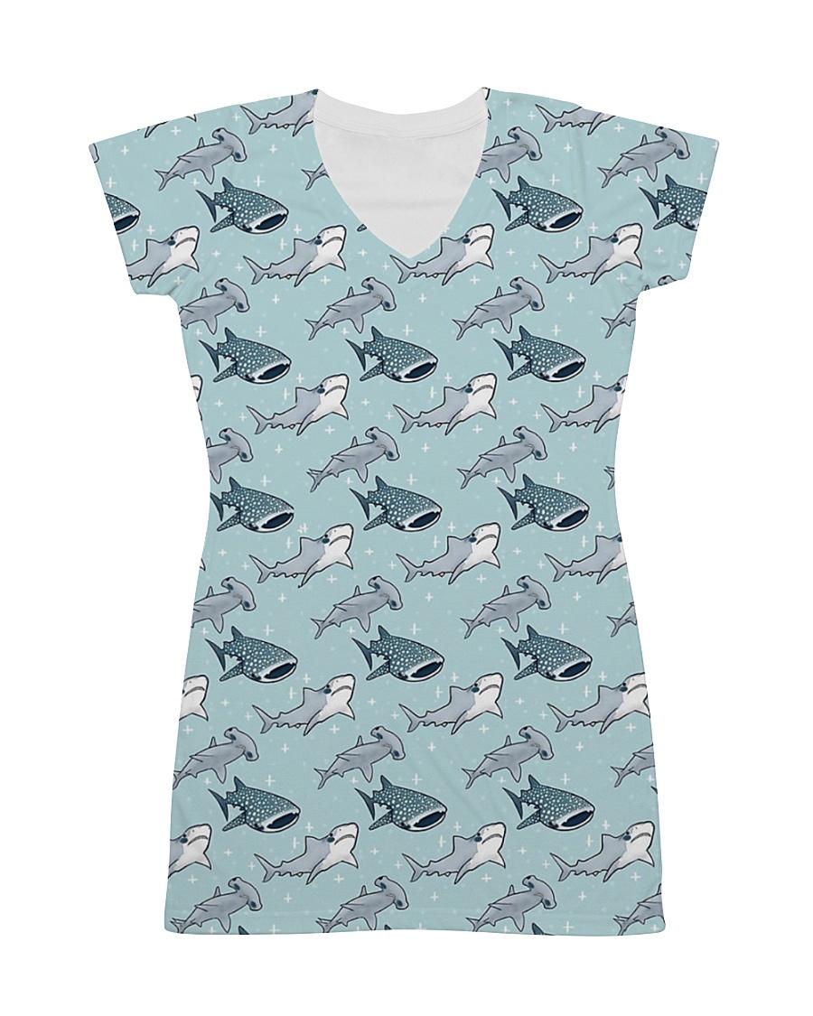 Shark dress cute baby shark All-over Dress