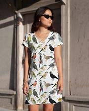 Bird dress type of birds All-over Dress aos-dress-front-lifestyle-1