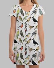 Bird dress type of birds All-over Dress aos-dress-front-lifestyle-3