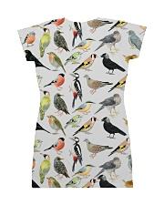 Bird dress type of birds All-over Dress back