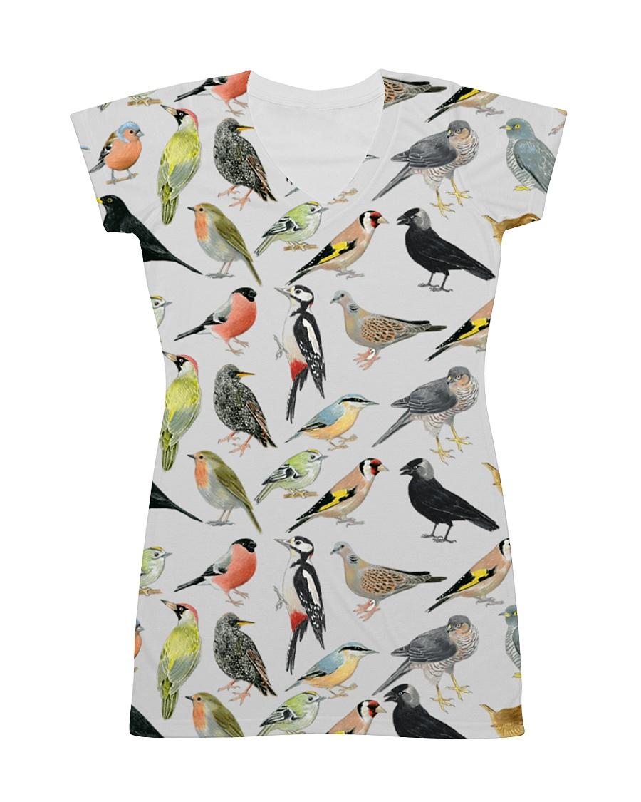 Bird dress type of birds All-over Dress