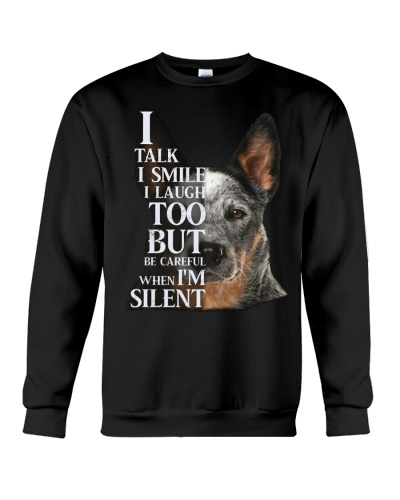 Heeler shirt i talk i smile i laught too