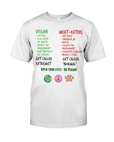 Open Your Eyes - Go Vegan