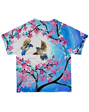 Bird beautiful color All-over T-Shirt back