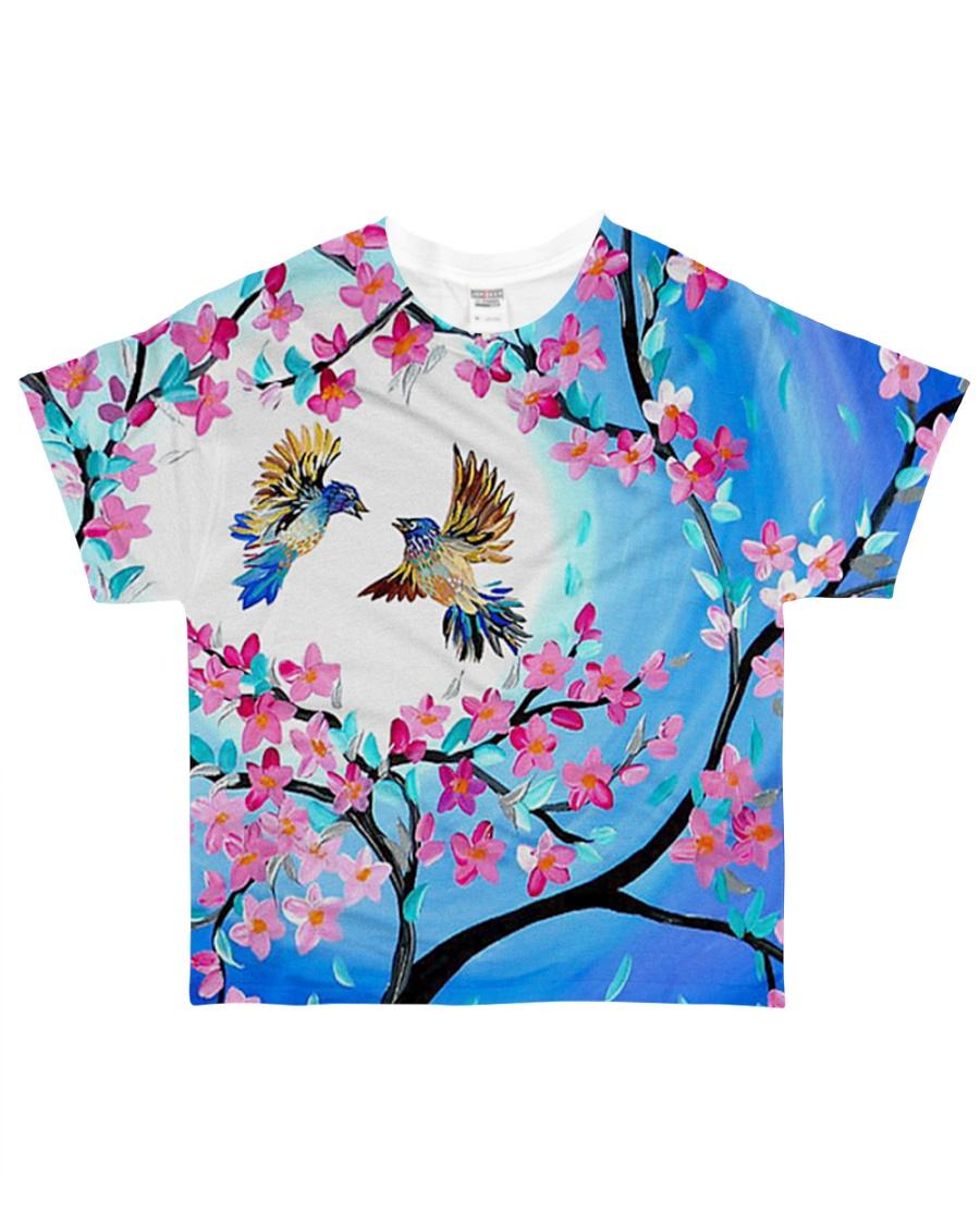 Bird beautiful color All-over T-Shirt