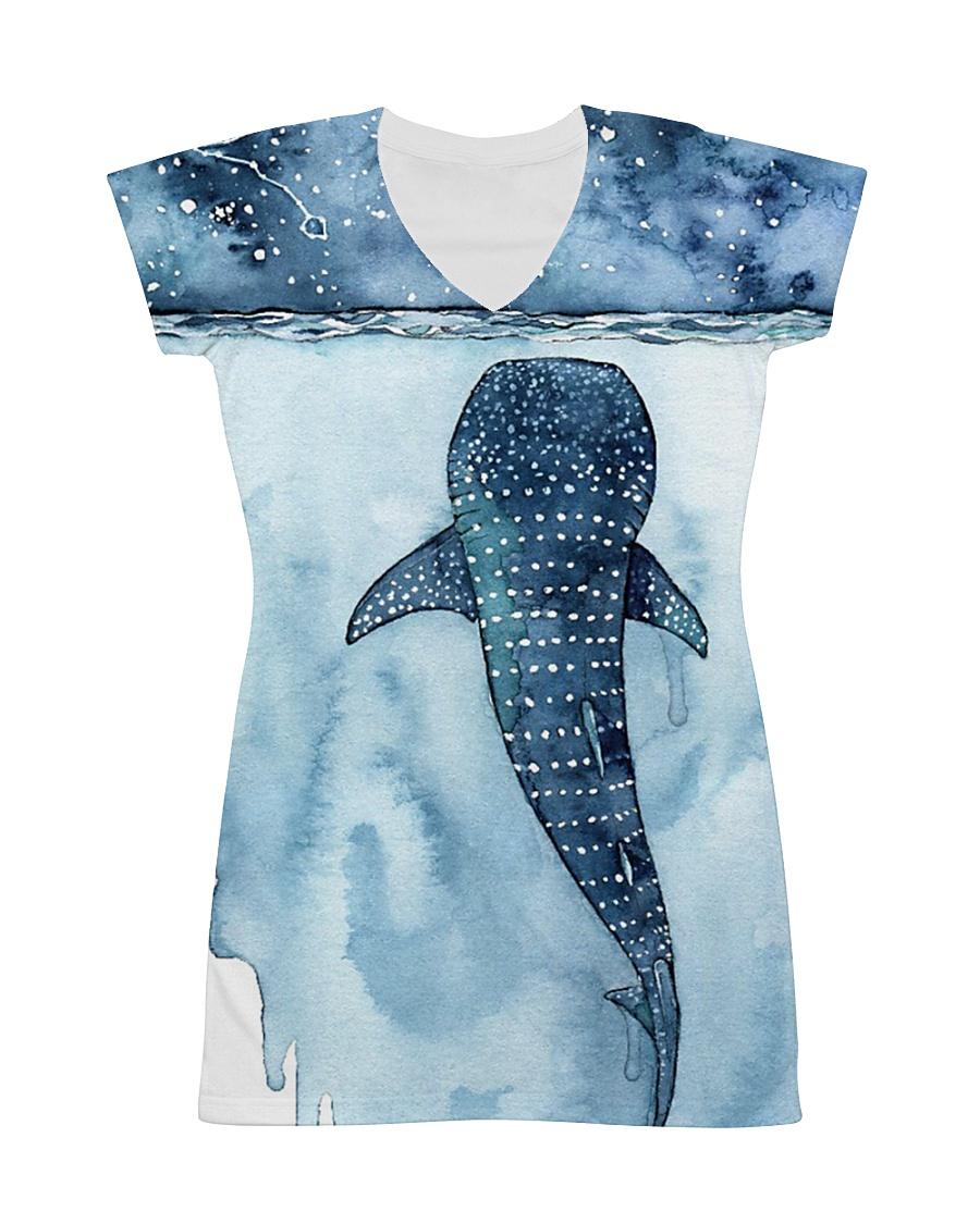 Whale dress ocean lovers All-over Dress