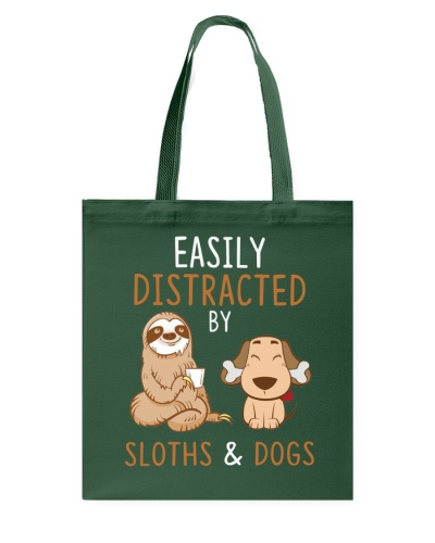 Sloths And Dogs Funny Cute