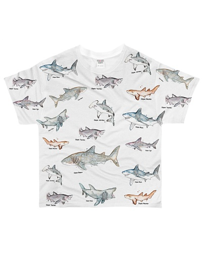 Shark shirt type of shark