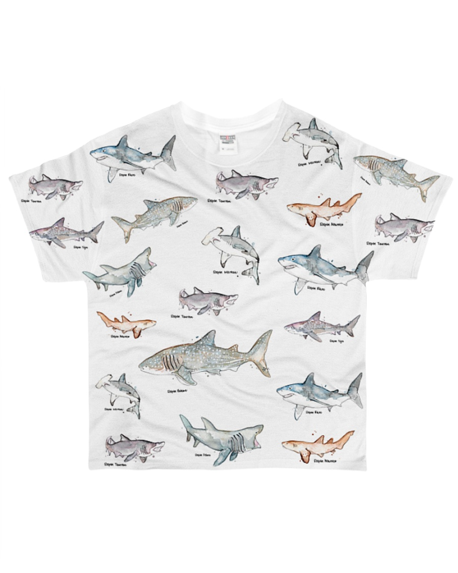 Shark shirt type of shark All-over T-Shirt
