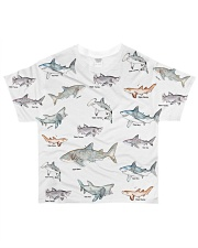 Shark shirt type of shark All-over T-Shirt front