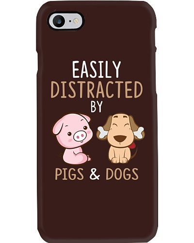 Pigs And Dogs Funny Cute