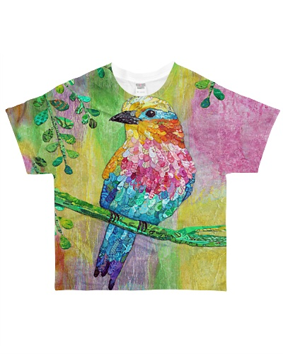 Bird shirt colorful shirt