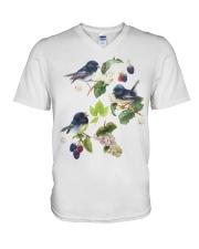 Bird shirt france V-Neck T-Shirt thumbnail