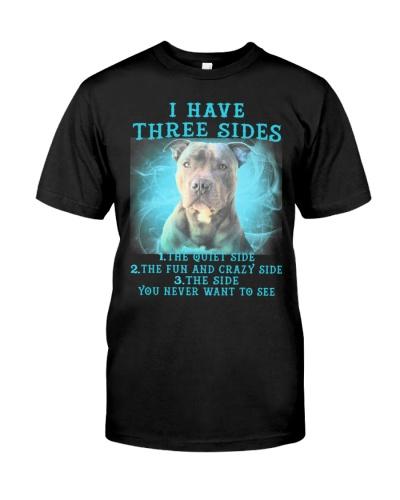 Pitbull i have three sides