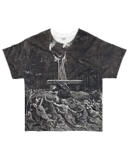 Satan shirt satanic lucifer devil shirt  All-over T-Shirt front