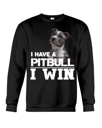 Pitbull i have pitbull i win