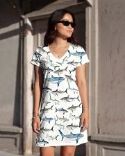 Shark dress type of sharks All-over Dress aos-dress-front-lifestyle-1