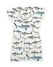 Shark dress type of sharks All-over Dress back