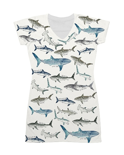 Shark dress type of sharks