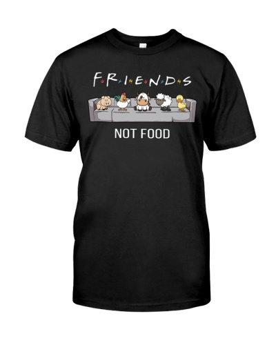 Vegan animal right friends not food
