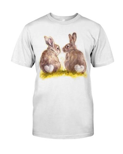 Rabbit shirt funny bunny couple rabbit shirt