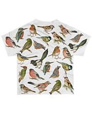 Bird I love birds All-over T-Shirt back
