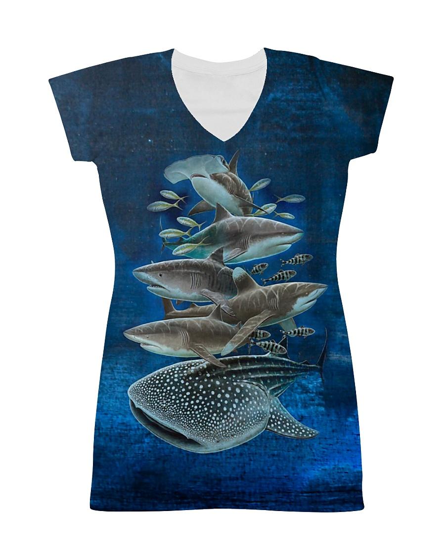 Shark dress type of sharks All-over Dress