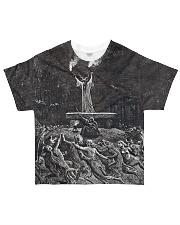 Satan shirt satanic lucifer devil shirt  All-over T-Shirt front
