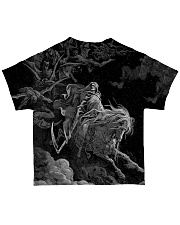 SATAN LUCIFER 666 ART All-over T-Shirt back