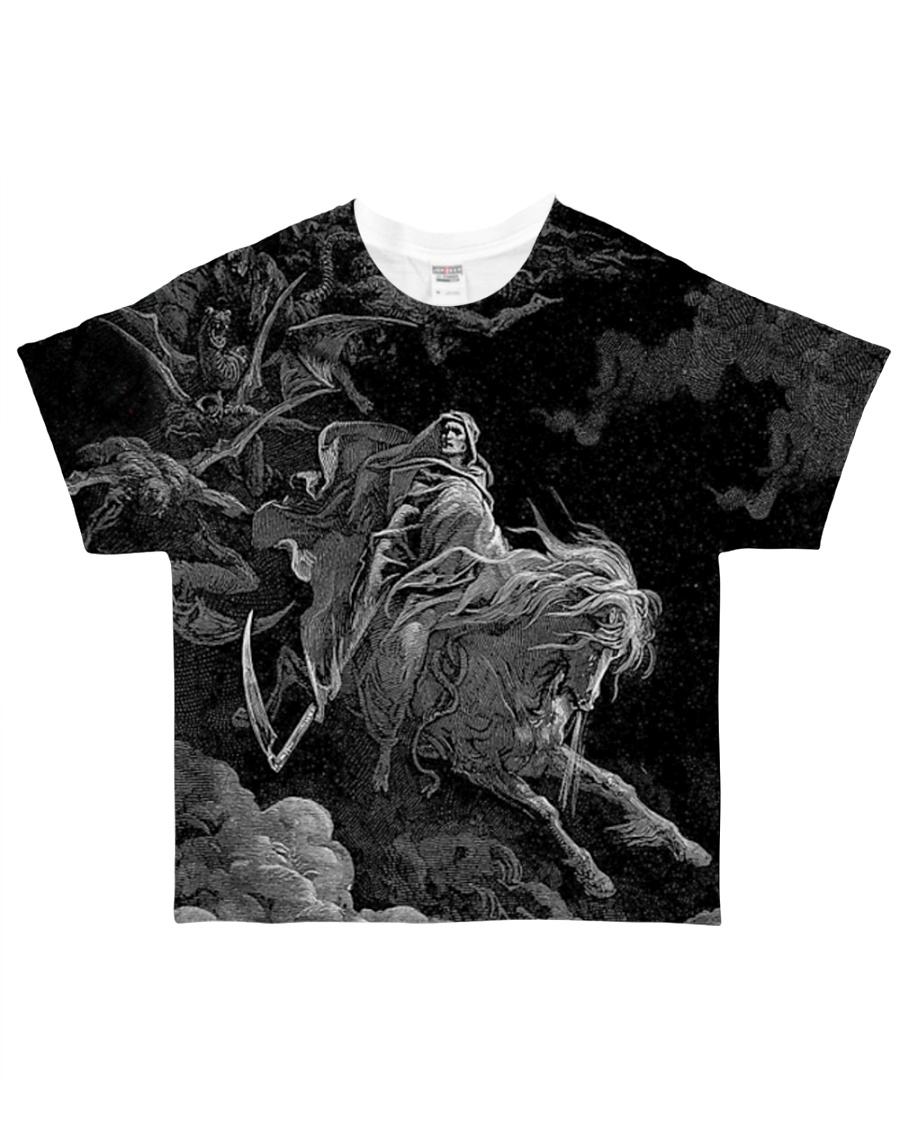 SATAN LUCIFER 666 ART All-over T-Shirt