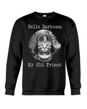 Cat Darth Vader Star Wars Hello Darkness Crewneck Sweatshirt thumbnail
