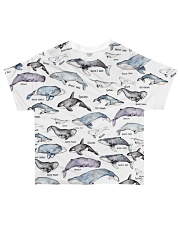 Whale shirt type of whale  All-over T-Shirt front