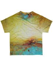 Bird shirt birdwatching colorfull All-over T-Shirt back