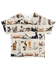 Cats yoga cute namaste All-over T-Shirt front