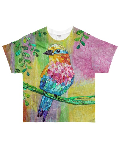 Bird shirt colorful awesome bird