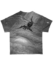 Satan shirt satanic lucifer devil shirt fall down All-over T-Shirt back