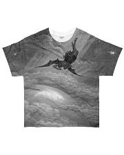 Satan shirt satanic lucifer devil shirt fall down All-over T-Shirt front
