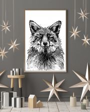 fox comfy bed 11x17 Poster lifestyle-holiday-poster-1