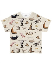 Vegan shirt animal yoga veganism vegetarian shirt All-over T-Shirt thumbnail