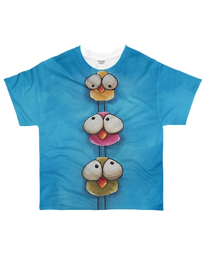 Bird shirt cute funny birds