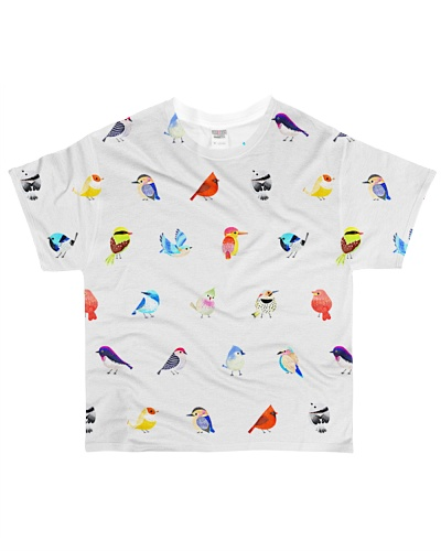 Bird shirt type of birds